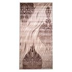 Прямоугольный ковёр Beluga Carving 9594, 200 х 500 cм, цвет bone/d.brown - фото 7928983