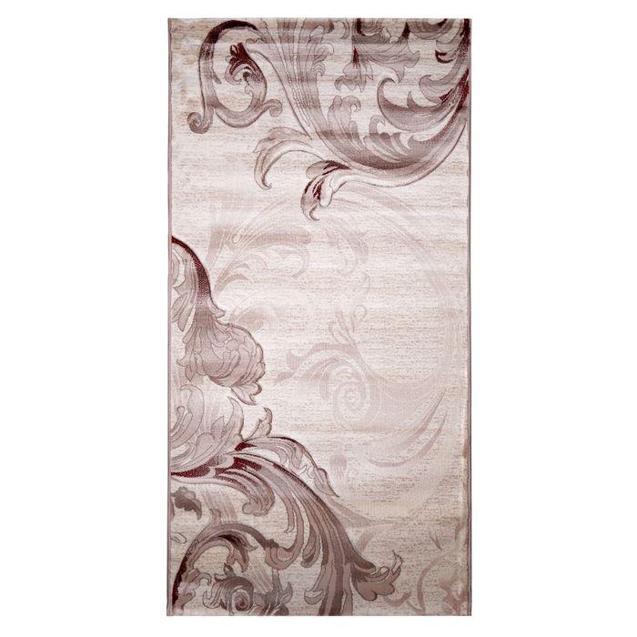 Прямоугольный ковёр Beluga Carving 9599, 200 х 500 cм, цвет bone/rose - фото 7928986