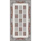 Овальный ковёр DIlber 3055, 200 х 400 см, цвет kemik/gri - фото 7928991