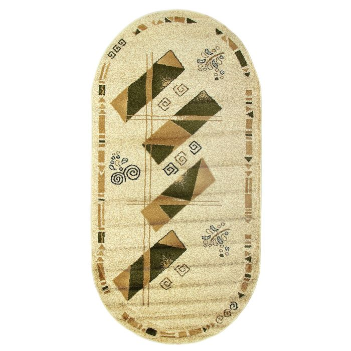 Овальный ковёр Antiq Imperial 3884, 200 х 400 см, цвет krem/krem - фото 7928998