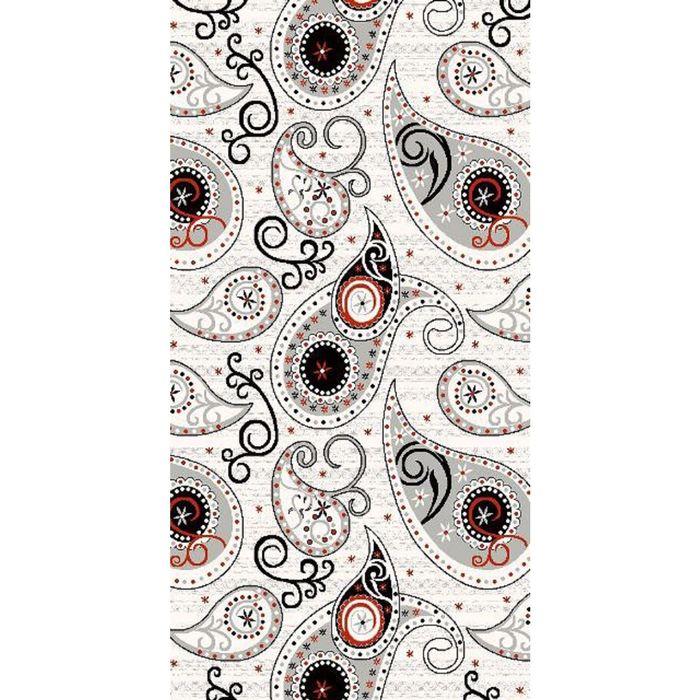 Прямоугольный ковёр DIlber 3048, 200 х 500 см, цвет kemik/gri - фото 7929170
