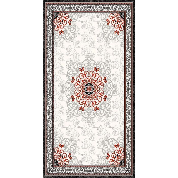 Прямоугольный ковёр DIlber 3052, 200 х 500 см, цвет kemik/gri - фото 7929173