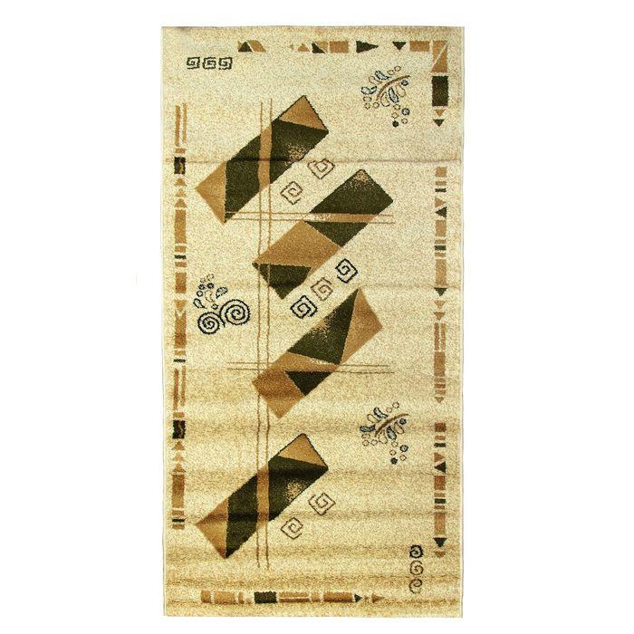 Прямоугольный ковёр Antiq Imperial 3884, 100 х 200 см, цвет krem/krem - фото 7929002