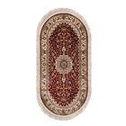 Ковёр ELEGANCE 1657 RED 200 х 400 см, овал - фото 7929176