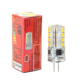 Лампа светодиодная Ecola Corn Micro, 3 Вт, G4, 2800 K, 320°, 40х15 мм