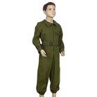 """Детский костюм военного """"Танкист"""", комбинезон, пояс, рост 110-122 см, 4-6 лет"""