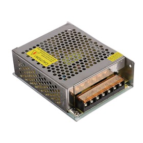 Power supply for Ecola LED strip, 100 W, 220-12 V, IP20.
