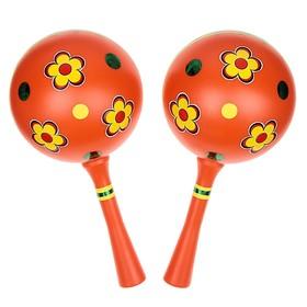 Музыкальная игрушка «Маракас», набор 2 штуки, МИКС