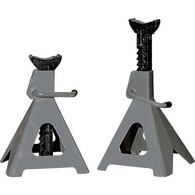 Подставки под автомобиль MATRIX, регулируемые, 6 т, выс. подъема  400-605 мм, 2 шт
