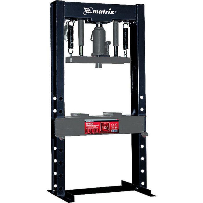 Пресс гидравлический MATRIX, 12 т, 1230 х 500 х 510 мм, комплект из 2 частей