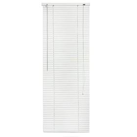 Blinds, plastic 40x160 cm, white.