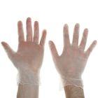 Перчатки виниловые, размер М, 100 шт