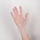Перчатки виниловые одноразовые неопудренные, размер L, 100 шт/уп - фото 194514732