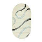 Овальный ковёр Rio Carving 223, 300 х 400 cм, цвет cream - фото 7929020