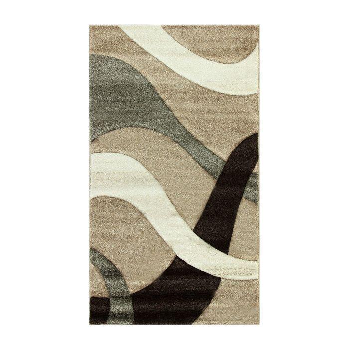 Прямоугольный ковёр Rio Carving 024, 150 х 400 см, цвет beige - фото 7929030