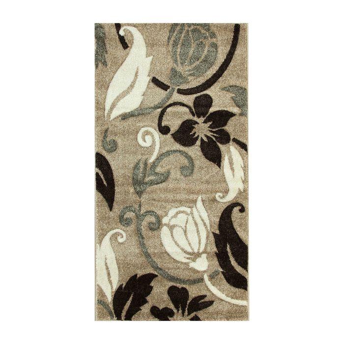 Прямоугольный ковёр Rio Carving 387, 100 х 200 cм, цвет beige - фото 7929038