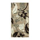 Прямоугольный ковёр Rio Carving 387, 200 х 400 cм, цвет beige - фото 7929039