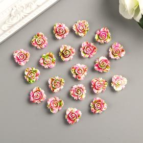 Decor for creative plastic rose-set of 20 PCs 1,6x1,6 cm