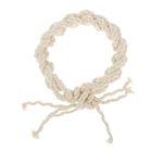 Игрушка GoSi из х/б каната, d=7 мм, плетеное кольцо с узлом, 20 см