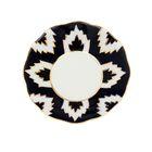 Тарелка круглая «Атлас в золоте», 13 см