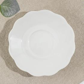 Тарелка d=12,5 см «Классика», цвет белый