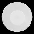 Тарелка d=13 см «Классика», цвет белый - фото 292825962