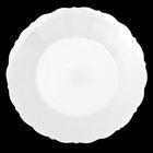 Тарелка d=16 см «Классика», цвет белый