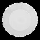 Тарелка 17,5 см «Классика», цвет белый