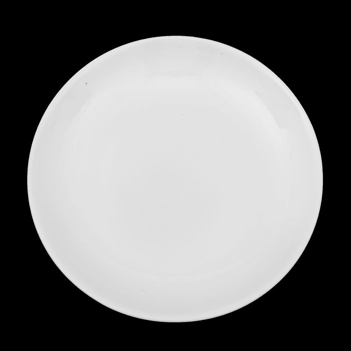 Тарелка d=22 см «Классика», цвет белый - фото 308066850