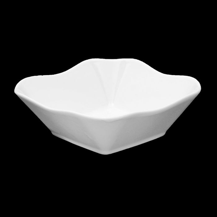 "Салатник 350 мл ""Классика"", 14×14 см, цвет белый - фото 308067735"