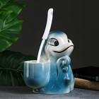 """Подставка под ёрш """"Дельфин"""", с ёршиком - фото 4650252"""