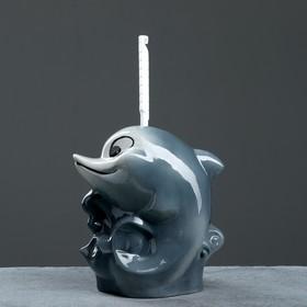 """Подставка под ёрш """"Дельфин"""", с ёршиком - фото 4650257"""