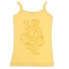 Майка для девочки, рост 152-158 см (80), цвет жёлтый CAJ 2279