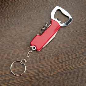 Нож многофункциональный 3 в 1, рукоять красная Ош
