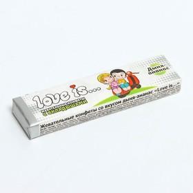 Жевательные конфеты Love is «Дыня-ананас», 25 г