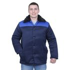 Куртка рабочая, размер 44-46, рост 182-188 см, цвет сине-васильковый