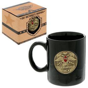 Mug with a badge