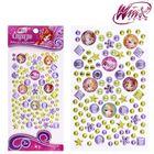 Набор для декорирования стразами, Феи ВИНКС: Блум, Стелла, Флора; фиолетовый, жёлтый