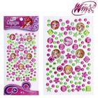Набор для декорирования стразами, Феи ВИНКС: Блум, Стелла, Флора; розовый, зелёный