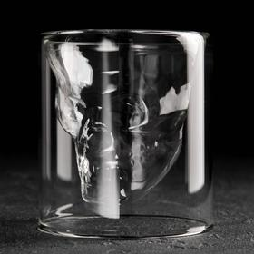 """A glass of 250 ml of """"Skull"""""""