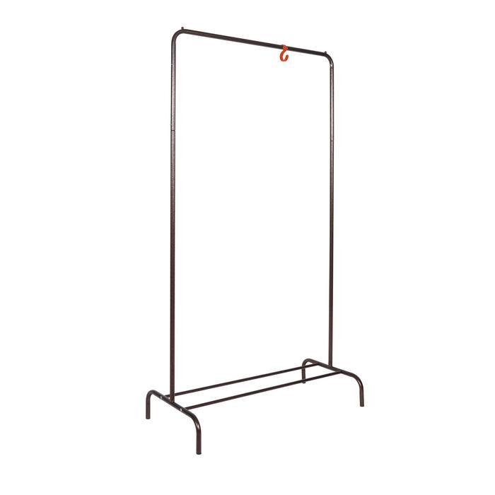 """Вешалка гардеробная 82×39×150 см """"Радуга 1"""", цвет медный антик"""