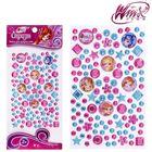 Набор для декорирования стразами, Феи ВИНКС: Блум, Стелла, Флора, Техна; розовый, голубой