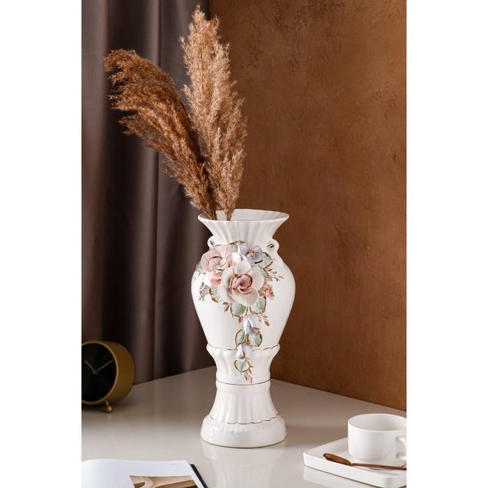 """Ваза настольная """"Верона"""", цветная лепка, 38 см, микс, керамика - фото 1678712"""