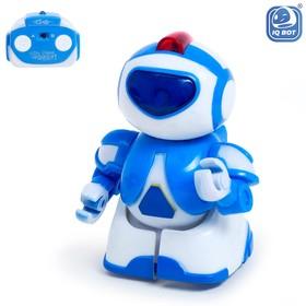Робот радиоуправляемый «Минибот», световые эффекты, цвет зелёный