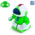 Робот радиоуправляемый «Минибот», световые эффекты, цвет синий