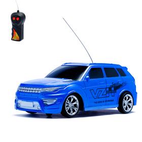 Машина радиоуправляемая 'Внедорожник', работает от батареек, 1:24, цвета МИКС Ош