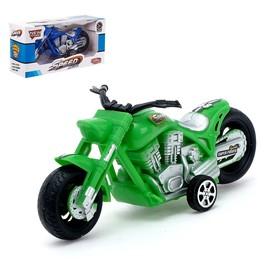 Мотоцикл инерционный «Чоппер», цвета МИКС