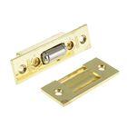 Фиксатор дверной 958, роликовый, цвет золото