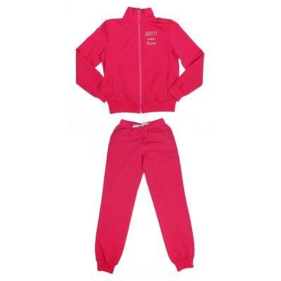 Костюм спортивный для девочки, рост 152 см (76), цвет малиновый 33-КП-28Ш