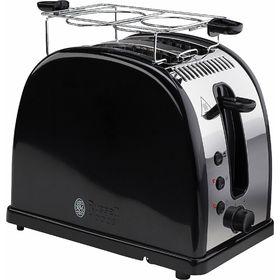 Тостер Russell Hobbs 21293-56 Legacy, 1300 Вт,  2 тоста, функция размораживания, черный
